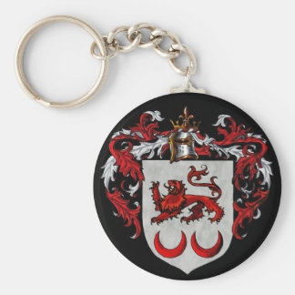 Kavanaugh Coat of Arms Basic Round Button Key Ring