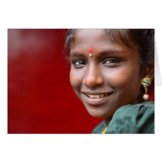 *Kavitha's Smile Card