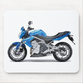 Kaw ER6n 2006+ cracked Mouse Pad