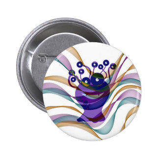 Kawai monster,colorful,abstract,fun,happy,kids buttons