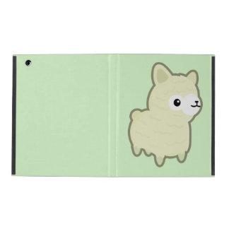 Kawaii alpaca iPad cover