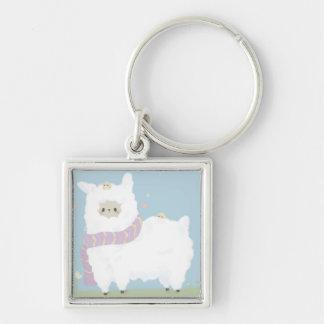 Kawaii Alpaca Keychain