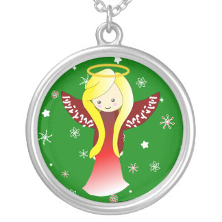Kawaii Angel in Red necklace