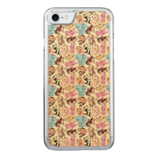 Kawaii Animals Carved iPhone 8/7 Case
