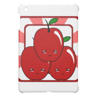 Kawaii Apple Basket (Boy) iPad Mini Covers