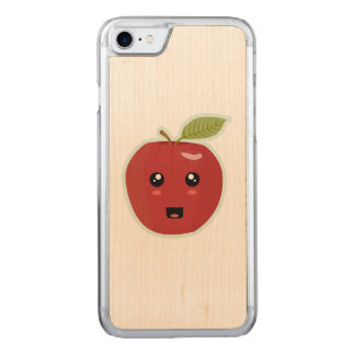 Kawaii Apple Carved iPhone 8/7 Case