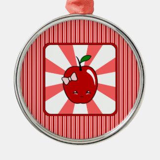 Kawaii Apple (Girl) Christmas Tree Ornaments