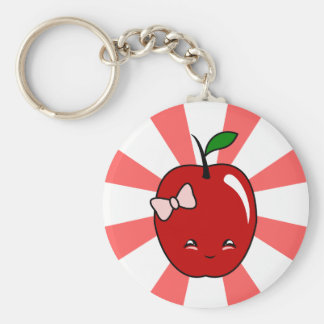 Kawaii Apple (Girl) Keychains