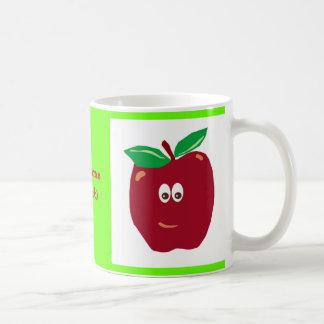 Kawaii Apple Personalized 15oz. Mug