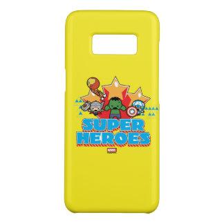 Kawaii Avenger Super Heroes Graphic Case-Mate Samsung Galaxy S8 Case