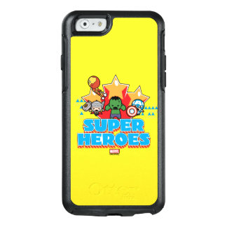 Kawaii Avenger Super Heroes Graphic OtterBox iPhone 6/6s Case