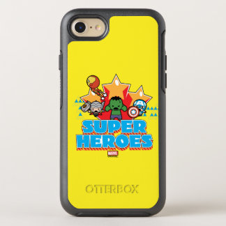 Kawaii Avenger Super Heroes Graphic OtterBox Symmetry iPhone 8/7 Case