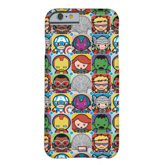 Kawaii Avengers Vs Ultron Pattern Barely There iPhone 6 Case