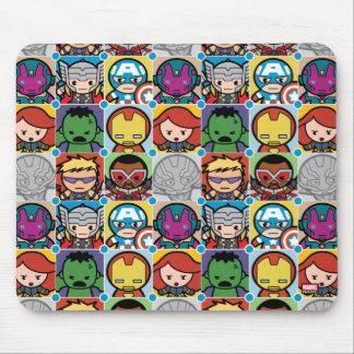 Kawaii Avengers Vs Ultron Pattern Mouse Mat