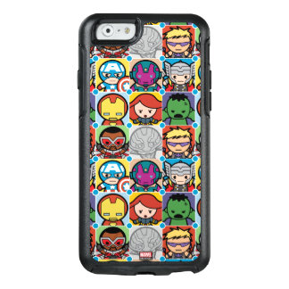 Kawaii Avengers Vs Ultron Pattern OtterBox iPhone 6/6s Case