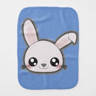 Kawaii baby bunny burpcloth burp cloth