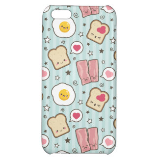 Kawaii Bacon & Fried Egg Deconstructed Sandwich iPhone 5C Cover