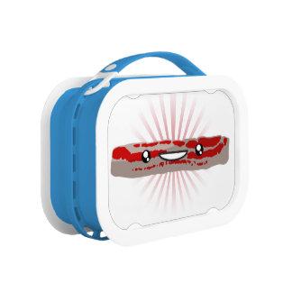 Kawaii Bacon Lunch Box