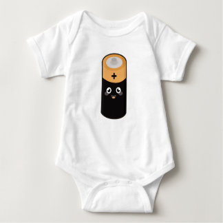 Kawaii battery baby bodysuit