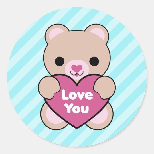 Kawaii Bear Stickers