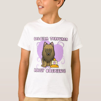 Kawaii Belgian Tervuren Rally Obedience T-Shirt