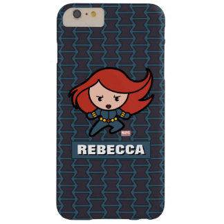 Kawaii Black Widow Dash Barely There iPhone 6 Plus Case