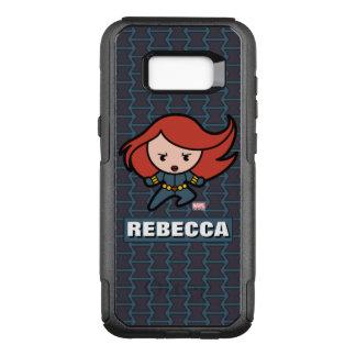 Kawaii Black Widow Dash OtterBox Commuter Samsung Galaxy S8+ Case