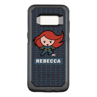 Kawaii Black Widow Dash OtterBox Commuter Samsung Galaxy S8 Case