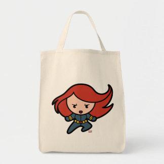 Kawaii Black Widow Dash Tote Bag