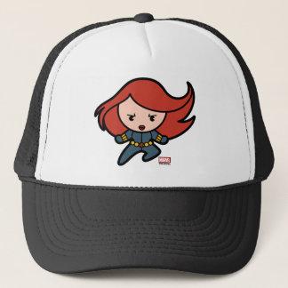 Kawaii Black Widow Dash Trucker Hat