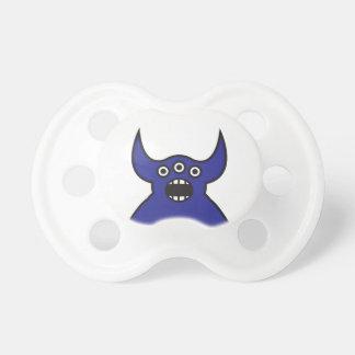 Kawaii Blue Alien Monster Face Dummy