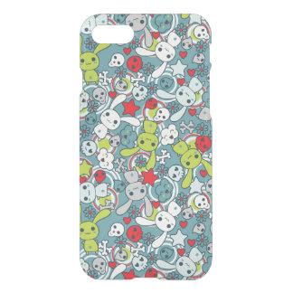 kawaii blue pattern iPhone 8/7 case