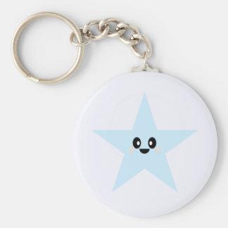 KAWAII BLUE STAR CUTE KEYCHAIN