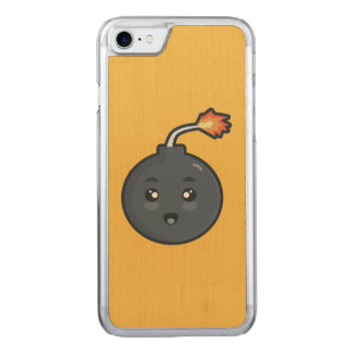 Kawaii Bomb Carved iPhone 8/7 Case