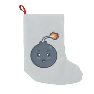 Kawaii Bomb Small Christmas Stocking