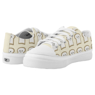 Kawaii Bread Low Tops