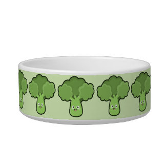 Kawaii Broccoli Bowl