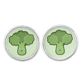 Kawaii Broccoli Cuff Links