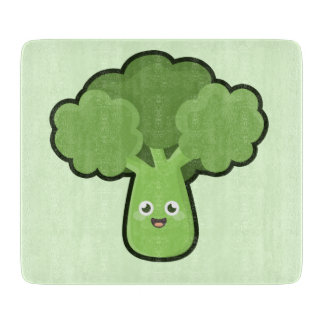 Kawaii Broccoli Cutting Board