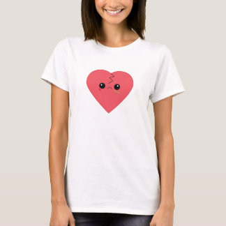 Kawaii broken heart t-shirt