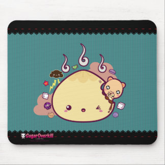 Kawaii Bun Attacked! Mouse Pad