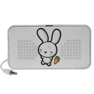 Kawaii Bunny and Carrot Mp3 Speaker