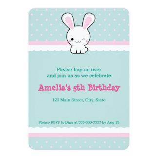 Kawaii bunny card
