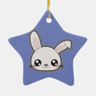 Kawaii bunny funny ornament