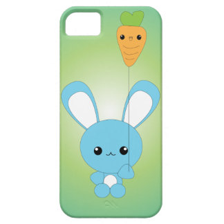 Kawaii Bunny with Carrot Balloon iPhone case iPhone 5 Cover