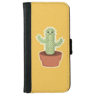 Kawaii Cactus iPhone 6 Wallet Case