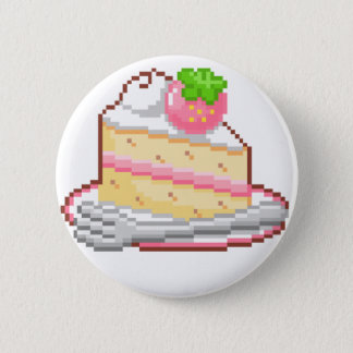 Kawaii Cake Badge