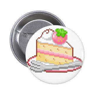 Kawaii Cake Badge