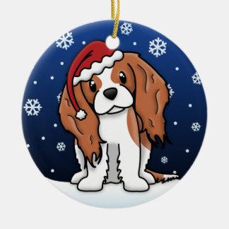 Kawaii Cartoon Blnhm Cavalier King Charles Spaniel Christmas Ornament
