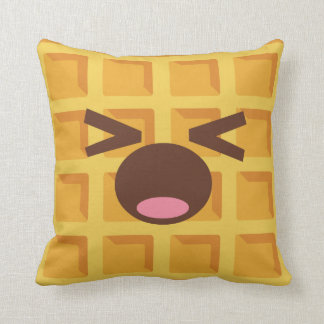 Kawaii Cartoon Waffle Sleeping Cute Breakfast Cushion